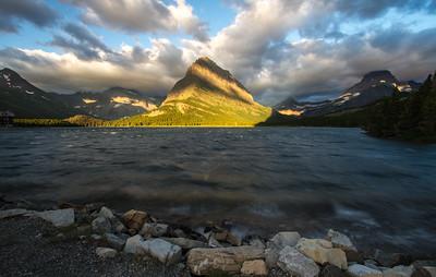 Sunrise, Swiftcurret Lake, Glacier National Park