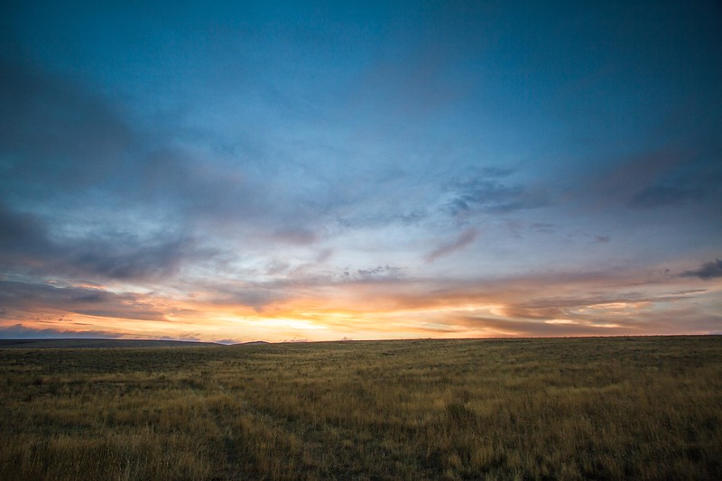 High Plains Sunrise, near Harrison, MT