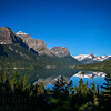 View from the Wild Goose Island Overlook in Glacier National Park. The famous vista is one of the best views of the iconic island that is in St. Mary Lake.  Photo by Kyle Spradley | www.kspradleyphoto.com