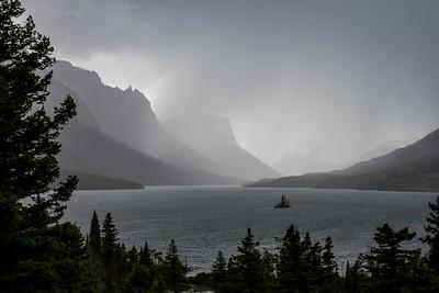Thunderstorm, St. Mary Lake, Glacier National Park