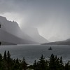 Thunderstorm, St. Mary Lake, Glacier National Park
