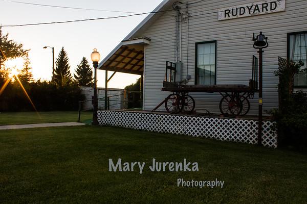 Depot Museum in Rudyard Montana