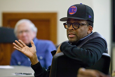 2012, CART, Filmmaking, Director Spike Lee speaking to students.  SpikeLee