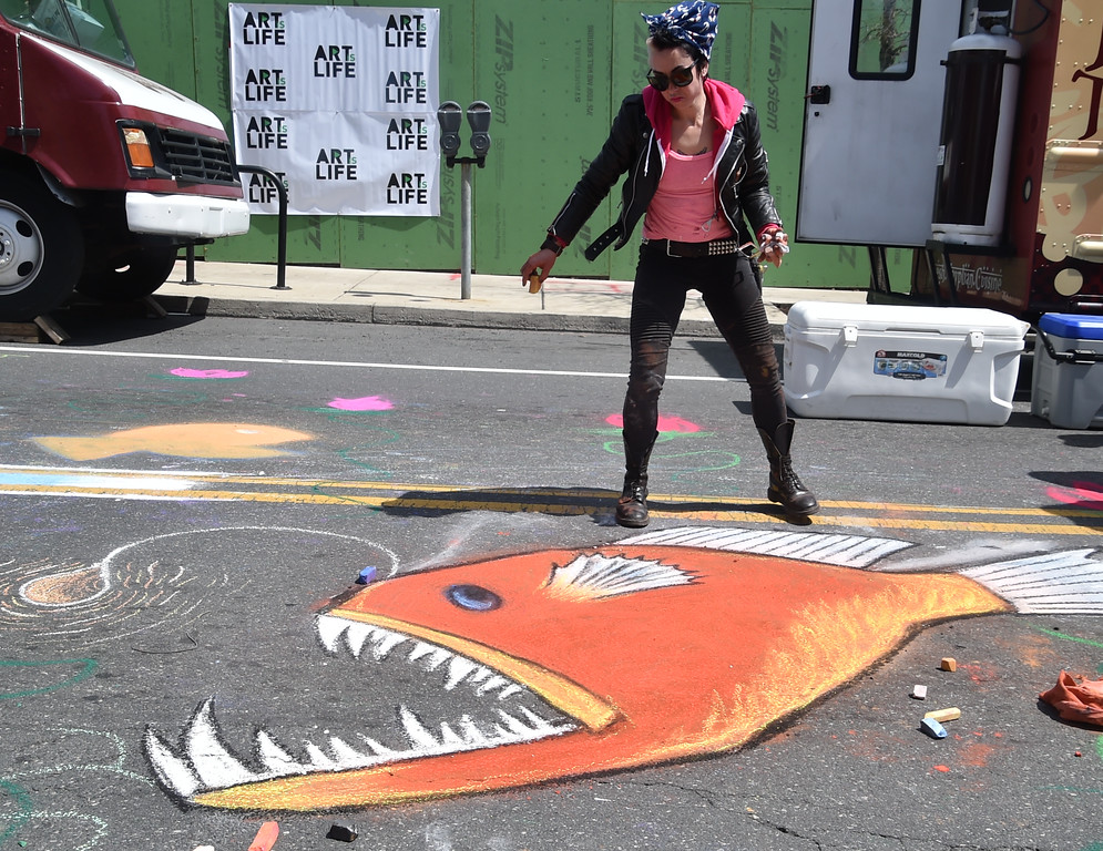 . The Art is Life Festival takes place along a portion of Ridge Avenue Saturday, April 21. Rick Cawley � For Digital First Media