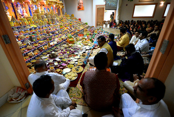 10/21/17  BAPS Shri Swaminarayan Mandir celebrates Hindu New Year