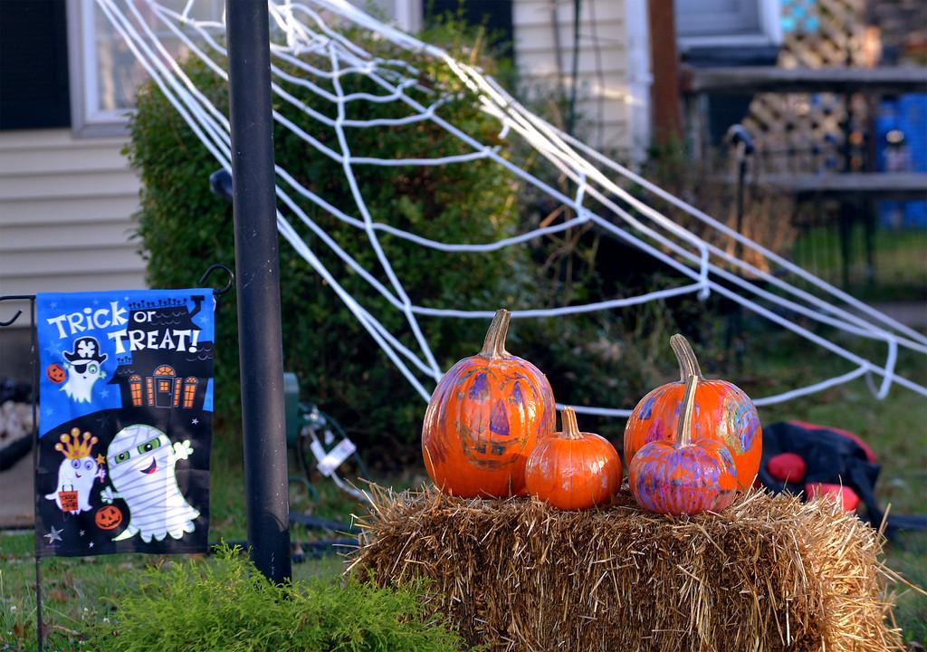 . A kid friendly display near Harleysville Oct 27, 2017. (Bob Raines--Digital First Media)