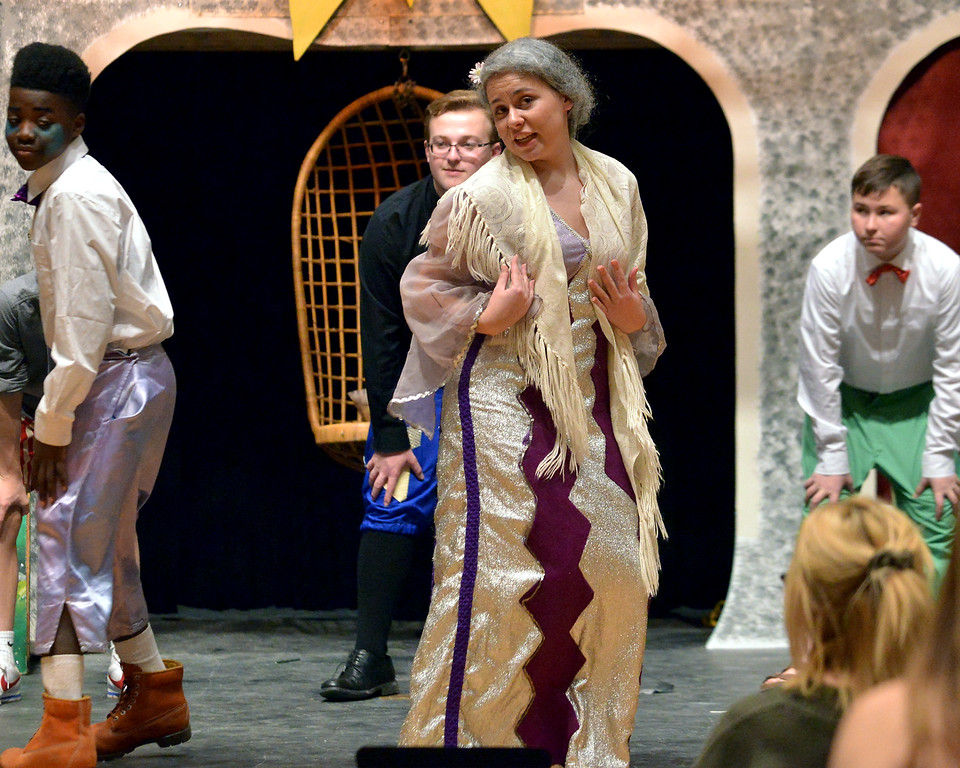 """. Mary Swingle plays the exiled grandmother, Bertha, in the YSTC 2017 fall production, \""""Pippin.\"""""""