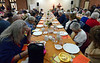 A prayer is offered before the Zion Mennonite Church Table of Plenty Thanksgiving dinner Nov. 24, 2016.   |   Bob Raines--Digital First Media