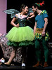 Tinker Bell and Peter Pan giggle that Mrs. Darling can't see them in the nursery.   (Bob Raines--Digital First Media)