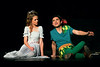 Peter Pan (Sam Caplan) brags to Wendy (Sadie Gustafson) of all the things he is free to do without a mother.  (Bob Raines--Digital First Media)