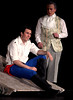 Bob Raines--Digital First Media // <br /> Prince Eric (Michael Reed Price), left, awakens on the beach, determined to find the girl with beautiful voice, much to the chagrin of his advisor, Grimsby (Jesse Burak).