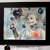 "Bob Raines--Digital First Media<br /> The PSEA Purchase Prize went to Ester Kim, Upper Dublin High School, for her watercolor at the 29th Annual ""Touch the Future"" Art Show at the Abington Art Center."