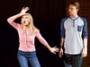 "Bob Raines--Digital First Media // <br /> Sarah Hodgson (Elle) and Zach Cahill (Emmett) rehearse for ""Legally Blonde,"" April 26, 2016."
