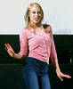 "Bob Raines--Digital First Media // <br /> Sarah Hodgson (Elle Woods) rehearses for ""Legally Blonde."""