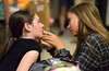 "Intern Juliet Kennedy helps Tara Nori with her makeup before rehearsal starts July 10, 2016 for the Young Starrs Theater Company production, ""The Wizard of Oz,"" showing at the Wissahickon High School Audion. _ Bob Raines 