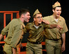 "Dylan Dagenais (Eddie, left), Matt Wolfinger, (Bernstein, (center), and Neil Devlin (Ralphie, right)  rehearse ""Some Kinda Time"" for the Young Starrs Theater Company production, ""Dogfight,"" appearing Aug. 12, 13 and 14 at the Act II Playhouse, Ambler.  