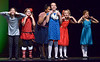 """Bob Raines--Digital First Media<br /> Rehearsing, """"Two Front Teeth,""""  for the  Everybody's Theater Company Holiday Musical Revue Dec. 15, 2016."""