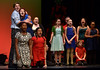 """Cast members sing, """"It's the Most Wonderful Time of the Year,"""" during rehearsal Dec. 15, 2016. (Bob Raines--Digital First Media)"""