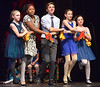 "The cast of the Everybody's Theater Company Holiday Musical Revue rehearses, ""Chanuka Medley,""  Dec. 15, 2016. (Bob Raines--Digital First Media)"