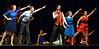 "Matt Kelly and the cast sing, ""Run Rudolph, Run,"" during rehearsal Dec. 15, 2016. (Bob Raines--Digital First Media)"