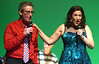 """Andrew Rifkin and Judy Thalheimer sing, """"All I Want for Christmas is You"""" during a rehearsal for the Everybody's Theater Company Holiday Musical Revue Dec. 15, 2016. (Bob Raines--Digital First Media)"""