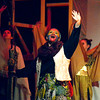 """Rafiki (Bailey Rifkin)and the animals of the Pridelands rehearse """"Circle of Life""""  Mar. 9, 2016  for the Sandy Run Middle School production of """"Lion King, Jr."""" // Bob Raines--Digital First Media"""