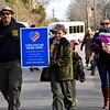 The Wissahickon Faith Community sponsored a Solidarity Walk for Peace and Justice Jan. 15. Debby High - For Digital First Media