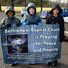 The Wissahickon Faith Community sponsored a Solidarity Walk for Peace and Justice held Jan. 15. Debby High - For Digital First Media