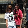 Kelly and Darlene Dool help get the word out and distributed coupons for Thread Society's official Art is Life T-shirts.  Eric Fitzsimmons — Digital First Media