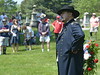 Randy Feranec portrays Major General Winfield Scott Hancock at the Historical Society of Montgomery County's Memorial Day Observance, May 28 2016 at Montgomery Cemetery on Hartranft Avenue, Norristown.  / BOB RAINES--DIGITAL FIRST MEDIA