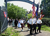 Participants in the Montgomery Historical Society Memorial Day Observance parade into Montgomery Cemetery, Norristown May 28,2016.  / BOB RAINES--DIGITAL FIRST MEDIA