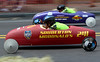 Racers flash past during the Indian Valley Soap Box Derby on Main St., Souderton June 4, 2016. / BOB RAINES--DIGITAL FIRST MEDIA