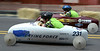 Racers flash past on Main St., Souderton during the Indian Valley Soap Box Derby June 4, 2016. / BOB RAINES--DIGITAL FIRST MEDIA