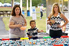 Sam Hahn, right, watches her son, Noah, and one of his teachers compete for a goldfish at the Perkasie Fire Company Carnival June 28, 2016. _ BOB RAINES--DIGITAL FIRST MEDIA
