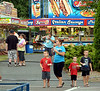 Area residents  have plenty of choices at the food court at the Perkasie Fire Company Carnival June 28, 2016. _ BOB RAINES--DIGITAL FIRST MEDIA