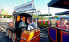Children ride the train at the Ambler Kiwanis Carnival June 29, 2016. _ Bob Raines | Digital First Media