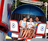 Three girls have fun on the Tilt-a-Whirl at the Ambler Kiwanis Carnival June 29, 2016. _ Bob Raines | Digital First Media