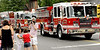 A line of North Penn Fire Co. trucks rolls along Main St. during the North Wales Independence Day Parade July 4, 2016. _ Bob Raines | Digital First Media