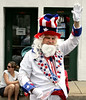 Lee Ford portrays Uncle Sam in the North Wales Independence Day Parade July 4, 2016. _ Bob Raines | Digital First Media
