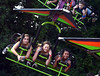 Teens ride a hang glider amusement at the Southampton Days fair July 6, 2016. _ Bob Raines | Digital First Media