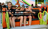 Three girls have fun of the Sizzler at the Southampton Days fair July 6, 2016. _ Bob Raines | Digital First Media