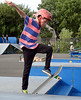 Bob Raines--Digital First Media | <br /> Damon Wesley flips his board as he jumps a set of steps in the skateboarding contest at the Indian Valley Boys and Girls Club Carnival July 15, 2016.