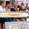 Three girls ride the Sizzler at Annual Sellersville Fire Department Carnival July 13, 2016. _ Bob Raines | Digital First Media