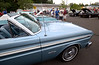 Mike Pateski's 1965 Ford Falcon Sprint sits in the foreground as auto fans gather to chat about cars Aug. 2, 2016. / BOB RAINES--DIGITAL FIRST MEDIA