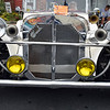 Debby High — For Digital First Media<br /> Owner Ruth White's 1929 Mercedes Gazelle sits on display during the Moonlight Memories Car Show in Hatboro July 30.