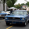Debby High — For Digital First Media<br /> This classic Mustang parades into the Moonlight Memories Car Show in Hatboro July 30.