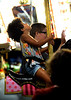 Bob Raines--Digital First Media<br /> A young girl watches the carousel mechanism that is making her horse move up and down at the Dublin Firemen's Fair Aug. 12, 2016.
