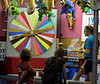 Fair goers hope the spinning pointer gets them a prize at the Dublin Firemen's Fair Aug. 12, 2016.  |  BOB RAINES--DIGITAL FIRST MEDIA