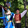 Debby High — For Digital First Media<br /> Siblings Uryane Faizova and Yunus Faizov perform during the Ukrainian Folk Festival at the Ukrainian American Sport Center in Horsham Aug. 28.