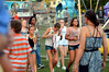 Young teens wander through the Upper Gwynedd Carnival Sept. 8, 2016.  (Bob Raines--Digital First Media)
